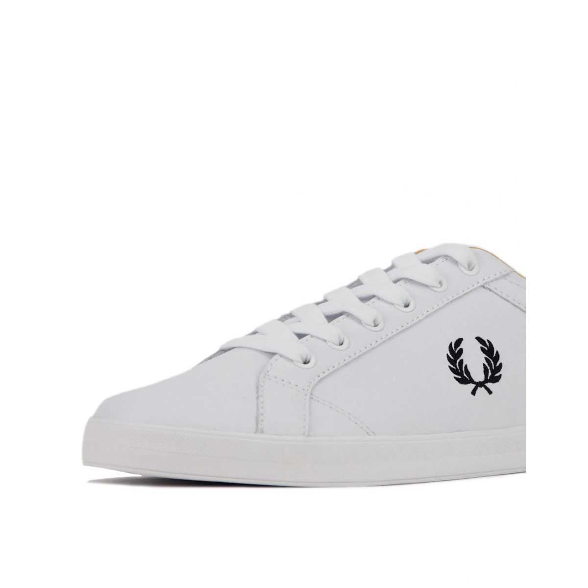 Fred Perry Baseline Leather B6158 100 White 6