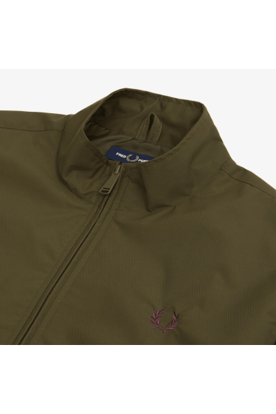 fred perry brentham jacket dark thorn p10685 26940 image