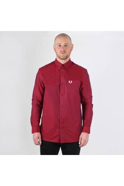 fred perry port oxford shirt m8501 1