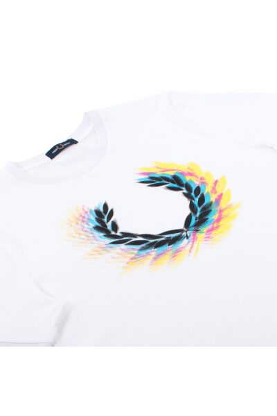 fred perry process colour branded t shirt p12968 302712 image