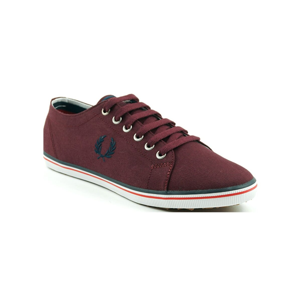 fred perry shoes b6259 kingston twill port 2
