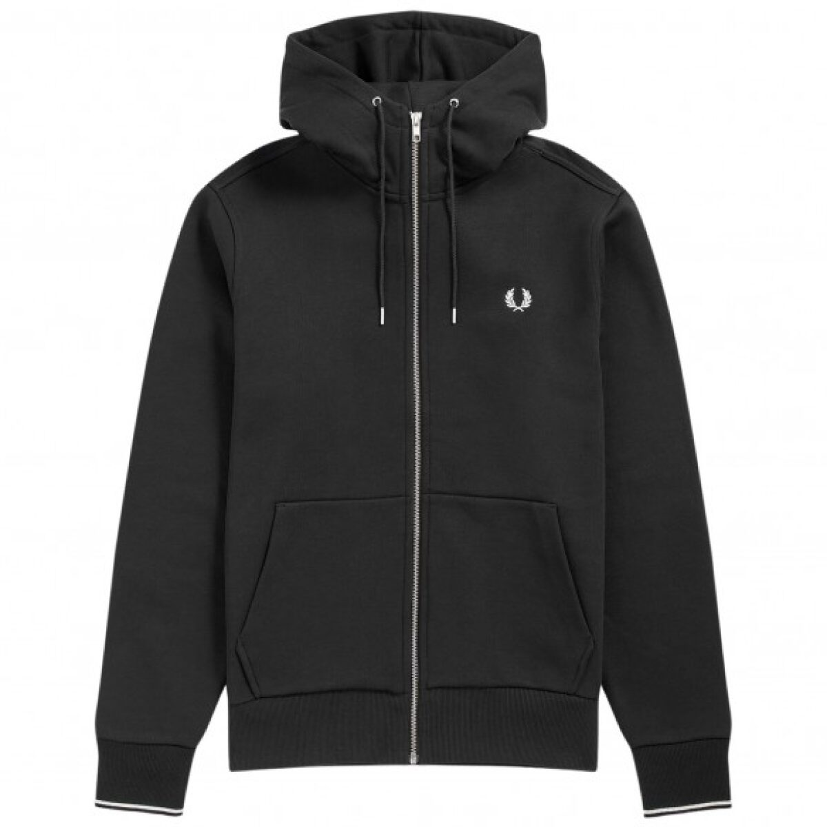 fred perry training jacket hooded zip j7536 198