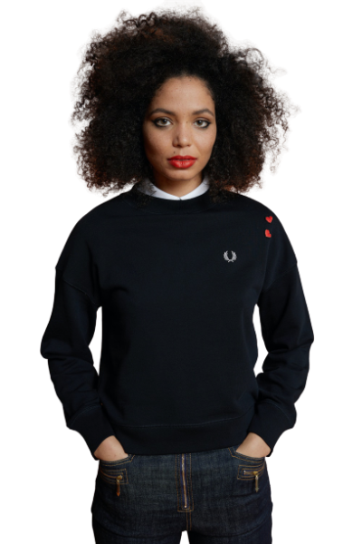 fred perry heart detail sweatshirt sg7115 black front 0985125001583278863 1583278827 removebg preview