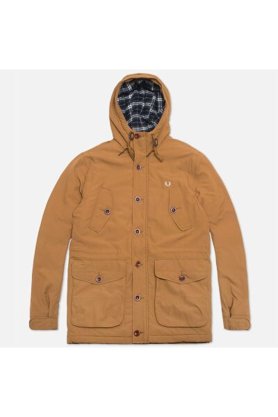 jacket fred perry mountain parka wadded rubber 1