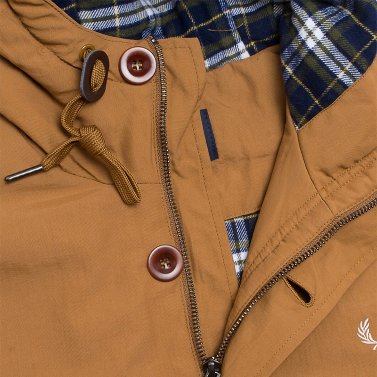 jacket fred perry mountain parka wadded rubber 3