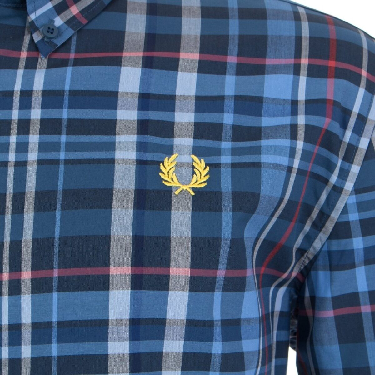 fred perry check shirt p15093 318545 image