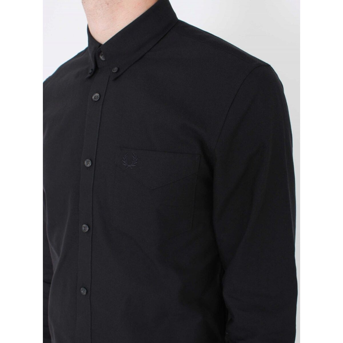 fred perry classic oxford shirt black p34417 545475 image