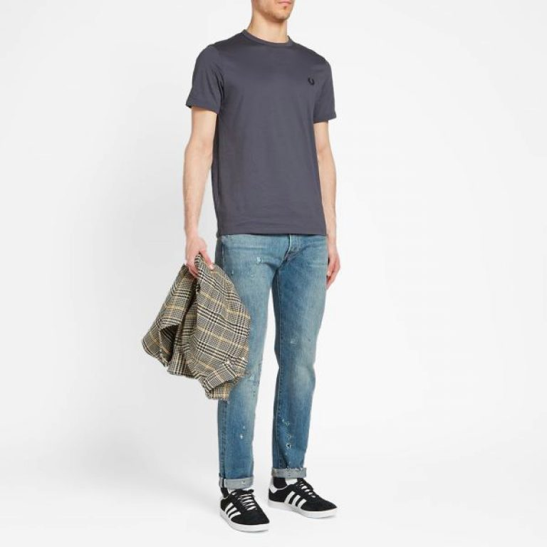 16 10 2019 fredperry ringertee charcoal m3519 491 jd m3x