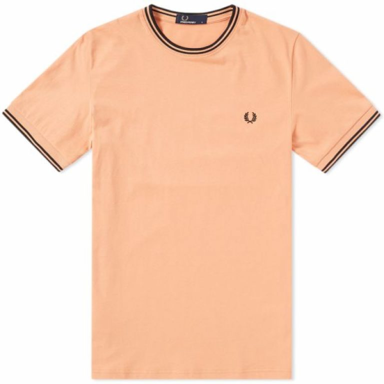 22 05 2018 fredperry twintippedtee apricot m1588 g05 th 1