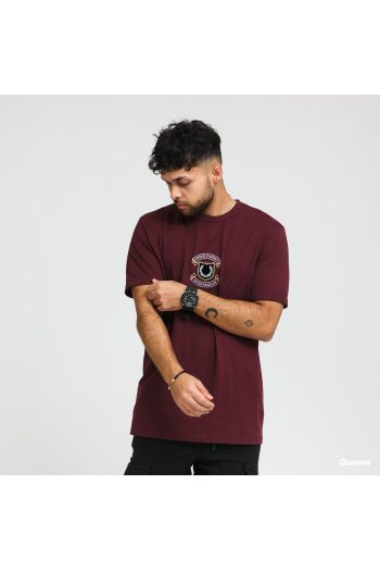 fred perry embroidered sheild tee 106132 1