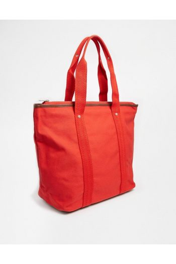 fred perry red canvas tote bag with zip top product 1 27752075 1 590857150 normal