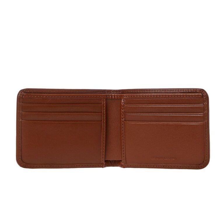 fred perry billfoild wallet tan 22856 02ks 1
