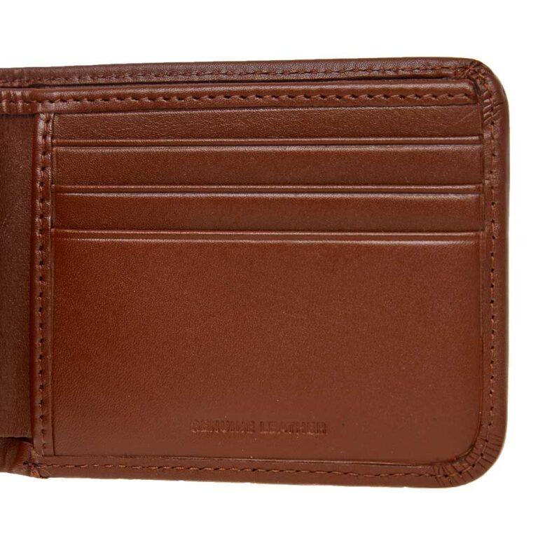 fred perry billfoild wallet tan 22856 05ks 1