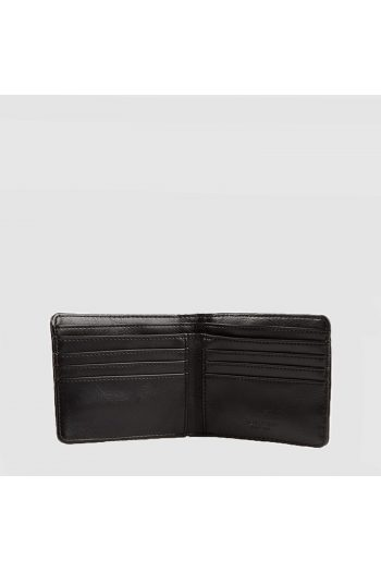 fred perry black flat knit wallet l9260 3
